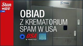 Obiad z krematorium  - Ciekawostki ze skrzynki pocztowej - USA w praktyce #21 2017 Video