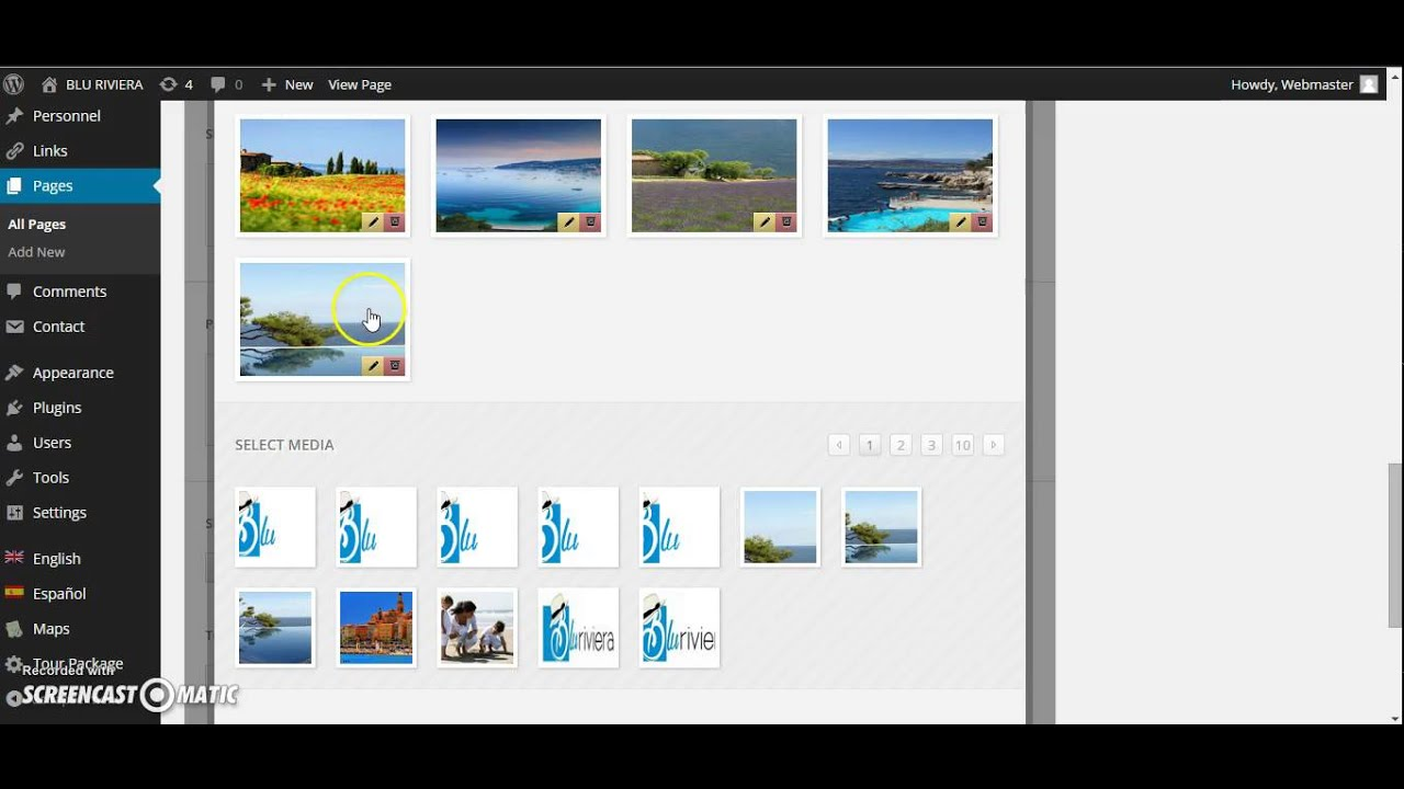 how to edit wordpress templates - tour package wordpress theme how to change slider image