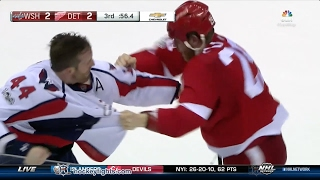 Brooks Orpik vs Steve Ott Feb 18, 2017