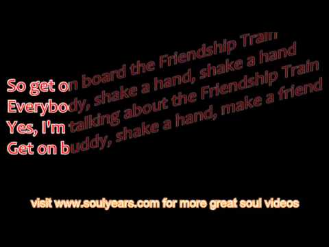 Gladys Knight & the Pips - Friendship Train (with lyrics)