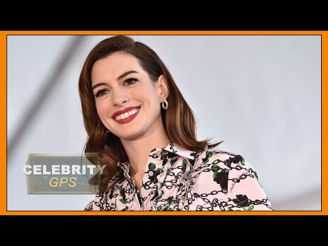 ANNE HATHAWAY says call me ANNIE - Hollywood TV