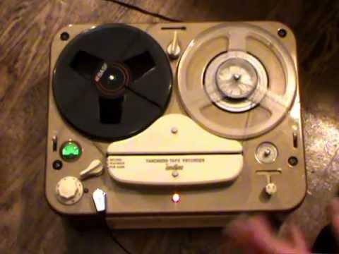 Смотрите сегодня видео новости Tandberg model 2T reel-to-reel tape recorder  на онлайн канале Russia-Video-News Ru