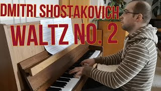Dmitri Shostakovich: Jazz Suite, Waltz No. 2 - Piano
