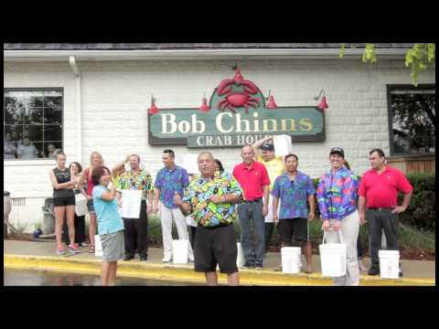 Ice Bucket Challenge - Bob Chinn's Crab House