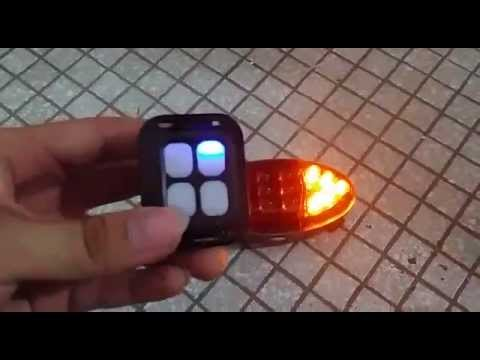 Wireless Remote Control Directional Signal warning light