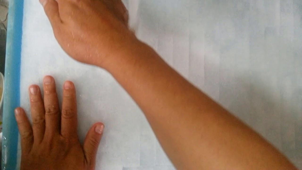 วิธีเตรียมฟองน้ำก่อนปลูกผักไฮโดรโปนิกส์ | How to prepare hydroponics sponge