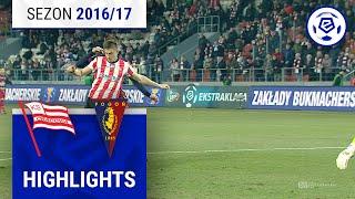 Cracovia - Pogoń Szczecin 1:1 [skrót] sezon 2016/17 kolejka 22