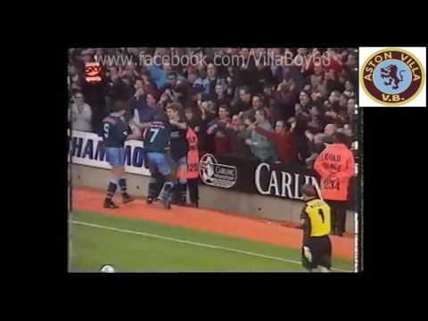 West Ham Utd 1 Aston Villa 4 – FA Carling Premiership – 4th Nov 1995