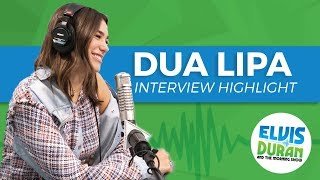 Dua Lipa on What She's Learned From Bruno Mars