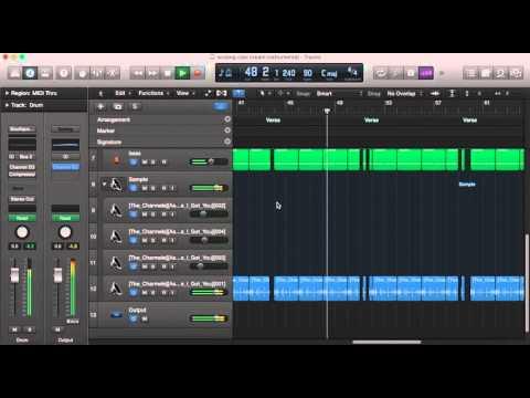 Wu-Tang Clan C.R.E.A.M. Instrumental Remake Logic Pro X - YouTube