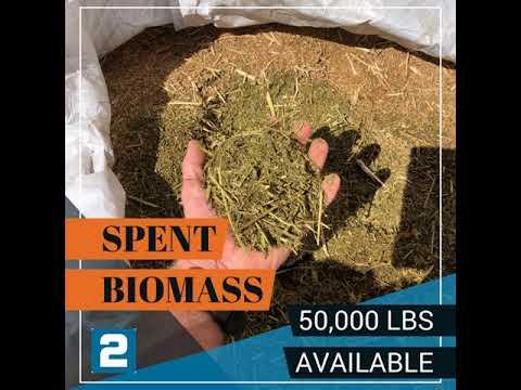 Spent biomass