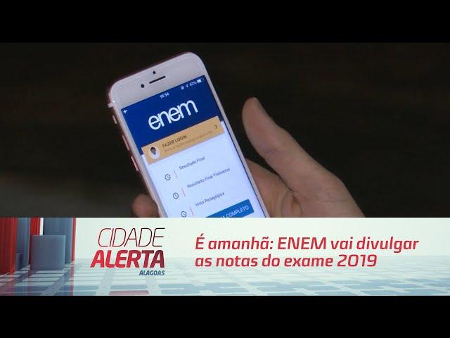 É amanhã: ENEM vai divulgar as notas do exame 2019