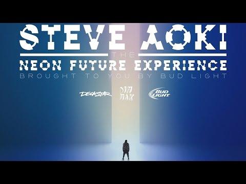 Neon Future Experience Tour Teaser - Steve Aoki