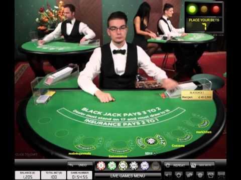 Evolution Gaming Live Blackjack Session Min £50 Bets