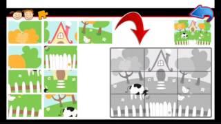 Животные пазлы для детей, Часть3