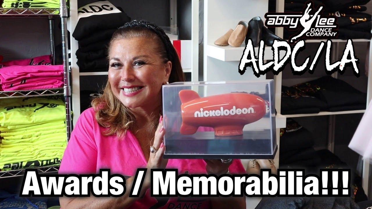 ALDC LA AWARDS / MEMORABILIA!!! l Abby Lee Miller