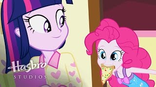"MLP: Equestria Girls - Rainbow Rocks Playlist ""A Pinkie Pie Slumber Party"""