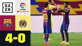 Fati-Fiesta & Messi zum Koeman-Kantersieg: FC Barcelona - Villarreal 4:0 | LaLiga | DAZN Highlights