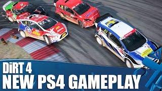 DiRT 4 - New PS4 gameplay! Rally, Landrush and Rallycross races