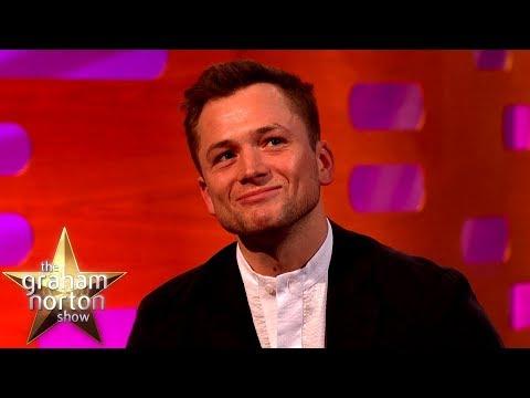 Taron Egerton Got Caught By Sir Elton John's Head Of Security | The Graham Norton Show