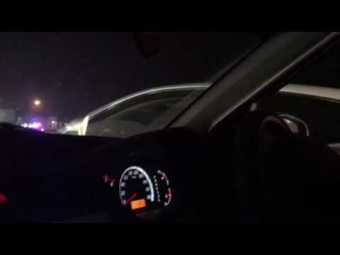 mubashir luqman car on Lahore motorway