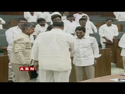 CM YS Jagan And Chandrababu At One Stage, Wishes To AP Deputy Speaker | ABN Telugu