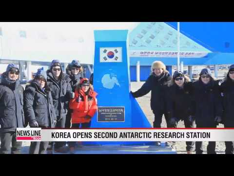Korea opens second research station in Antarctica
