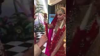 Sonam kapoor and Anand Ahuja Marriage video