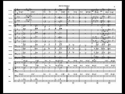 Dear Old Stockholm Big Band Chart Arranged By Jim Martin Youtube