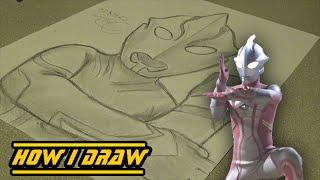 Ultraman Mebius -How I Draw