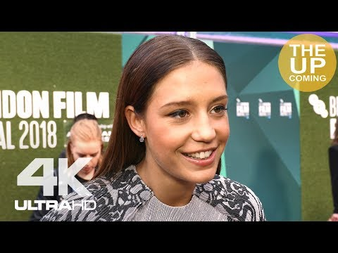 Adele Exarchopoulos on The White Crow and Ralph Fiennes at London Film Festival premiere