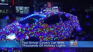 Christmas Lights On Cab