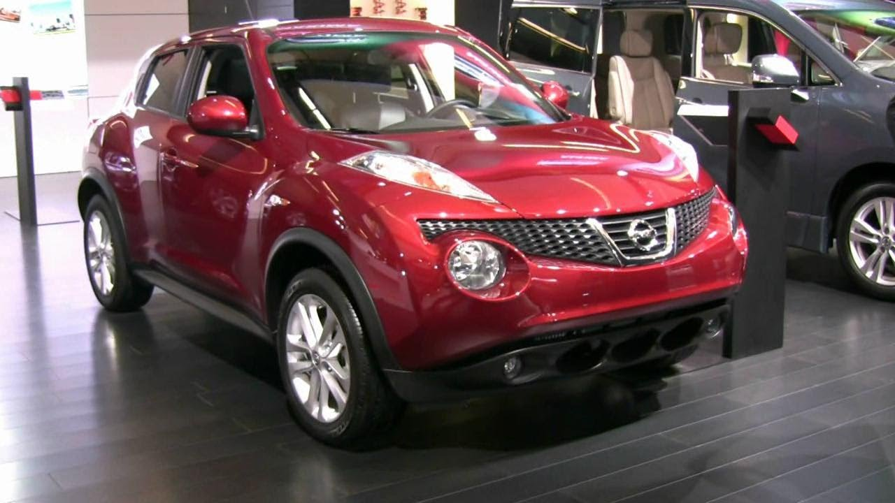 2012 nissan juke sl awd exterior and interior at 2012 montreal auto show youtube. Black Bedroom Furniture Sets. Home Design Ideas