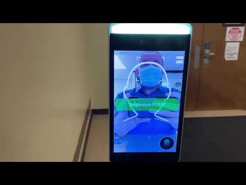 A video explaining the county's temperature scanning devices.