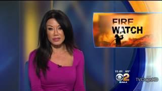 Sharon Tay 2015/08/17 CBS2 Los Angeles HD