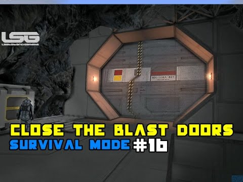 Space Engineers - Close The Blast Doors, OH NO WAIT !!!! SE2 - Part 16