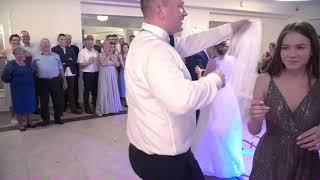Talar;Zabawa oczepinowa- Pokaz  ,You Can Dance'' dwóch par młodych wesele 2020/21r.