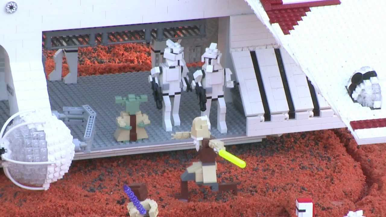 Star Wars Miniland At Legoland California Youtube