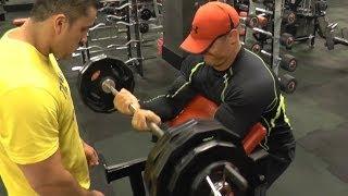 Trénink na biceps - Martin Mester IFBB Mens physique ( jak zvětšit biceps )