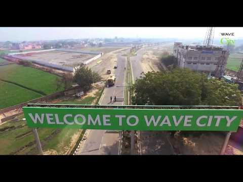 Drone View of Wave City - Construction Progress 2017