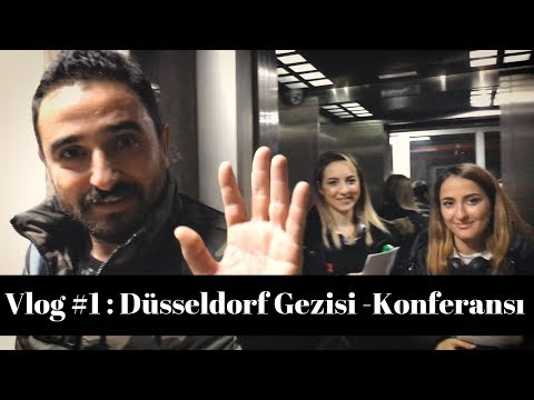 Vlog: Almanya Düsseldorf Gezisi - (Mide Küçültme Konferansı)