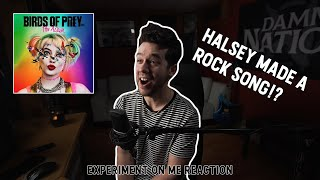 Halsey Goes Rock!? - Experiment On Me ( Birds of Prey ) Reaction