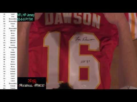 HitBeasts.com - Len Dawson, KC Chiefs Jersey 04/20/17