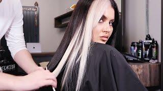 WHITE STREAK HAIR TRANSFORMATION | JAMIE GENEVIEVE