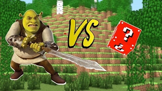 LUCKY BLOCK VS. SHREK (MINECRAFT LUCKY BLOCK CHALLENGE)