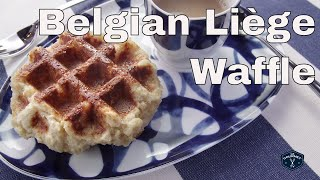 ❤️ Absolute Best Traditional Belgian Liège Waffle || Glen & Friends Cooking