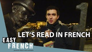 Super Easy French 14 - Lets read French books