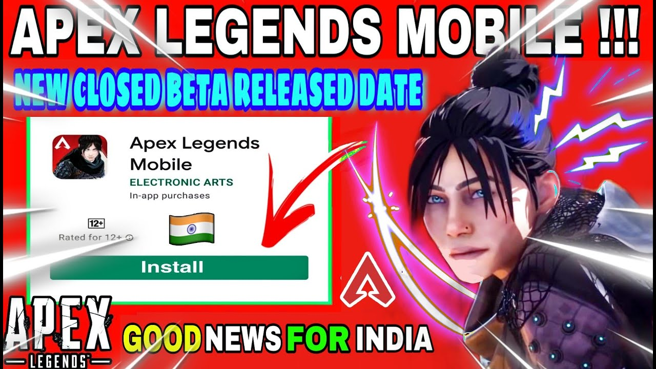 Download 🔥APEX LEGENDS MOBILE RELEASED DATE   APEX LEGENDS MOBILE 3RD CLOSE BETA FOR INDIA   CLOSED BETA