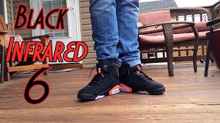 "Air Jordan Retro 6 ""Black/Infrared"" W/ On-Feet Review"