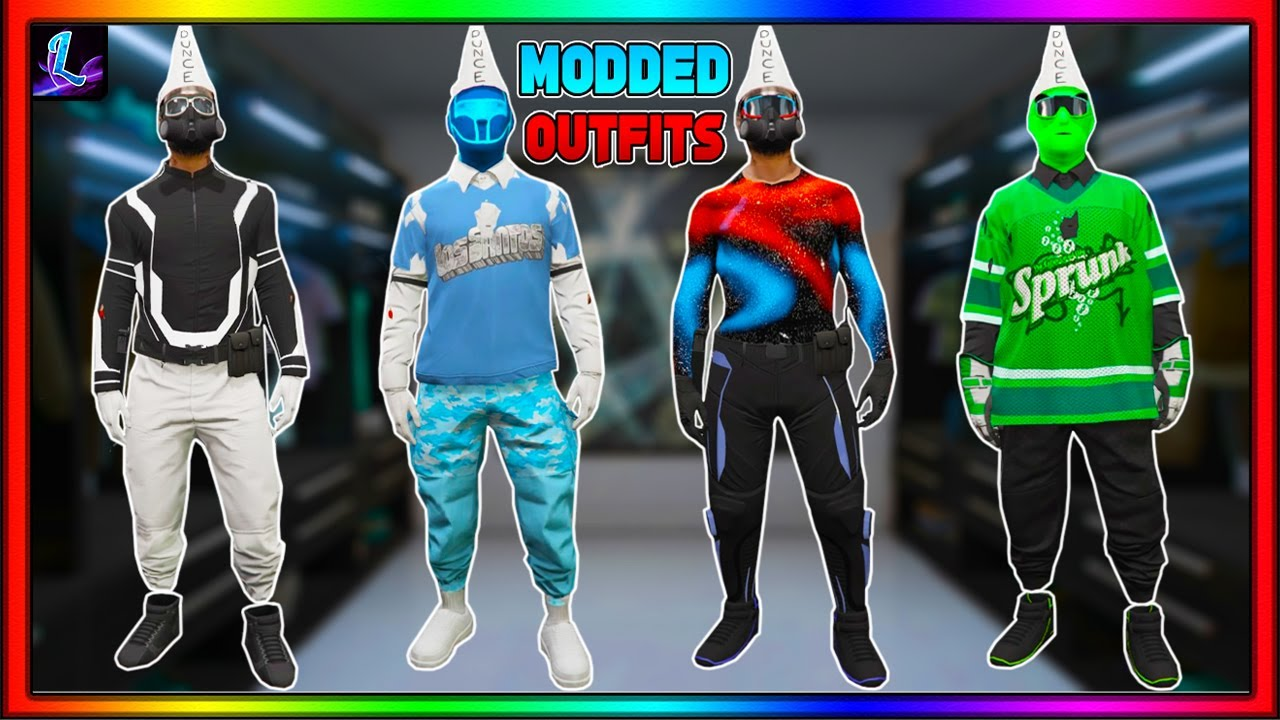 *NEW WORKAROUND!* GTA 5 HOW TO GET MULTIPLE MODDED OUTFITS! *AFTER PATCH 1.57*   GTA Online